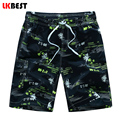 LKBEST New fashion men board shorts print quick dry male beach shorts Europe size plus size men swimwear shorts M-5XL N1526