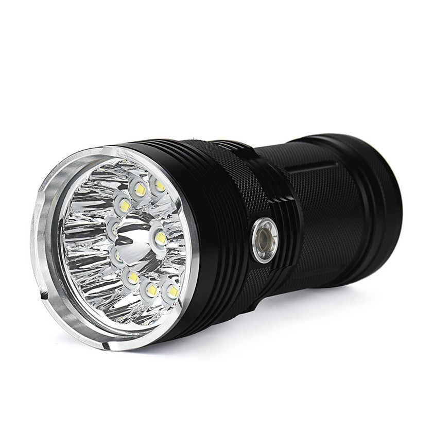 T6 LED strong light flashlight 14 lights XML torch