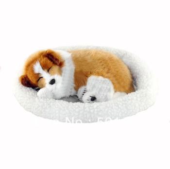 free shipping breathing dog toy plush breathing dog toy toy cat dog breathes