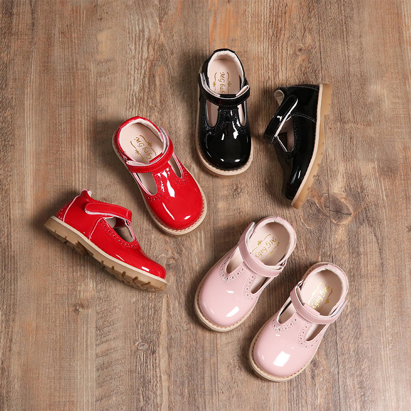 2019 Child Kids Shoe Girls Autumn New Princess Single Shoes Girls Patent Leather Princess British Retro Leather Baby Shoes2019 Child Kids Shoe Girls Autumn New Princess Single Shoes Girls Patent Leather Princess British Retro Leather Baby Shoes