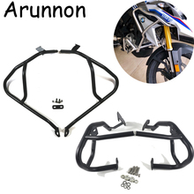 Arunnon For BMW G310GS G310 GS 2017-2018 Motorcycle Tank protector Upper & Lower Carsh Bars Guard Engine Bumper Cover Black