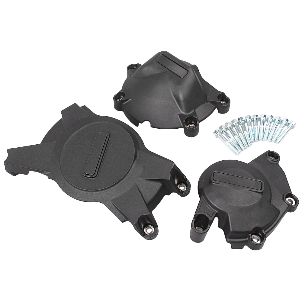 3PCS Engine Stator Cover Case Crankcase Protector Set For SUZUKI GSXR1000 2009 2010 2011 2012 2013 2014 2015 K9 racing engine stator cover set protector guard for honda cbr1000rr 2008 2009 2010 2011 2012 2013 2014 2015 2016