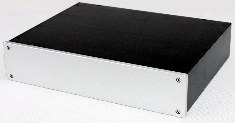 WA83 Aluminum Chassis Enclosure Box Case Shell for Audio Amplifier 248x325x70mm audio amplifier chassis shell case enclosure box aluminum 430x456x113mm wa43