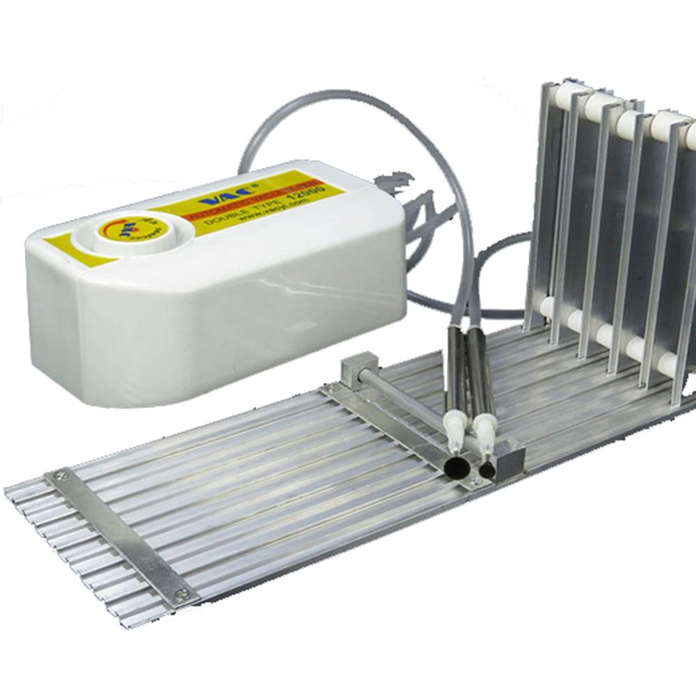 Five slots SMT component placement machine feeder rack manual feed SMT SMD five slot rack+12000 vacuum suction pen цена и фото