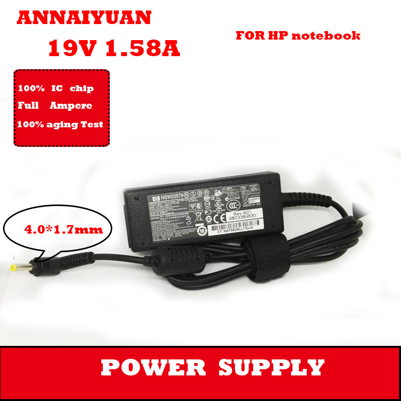 hot selling adapter supply 19 V 1.58 A 30 W Laptop Power Adapter interface 4.0*1.7 mm for brand computer power adapter