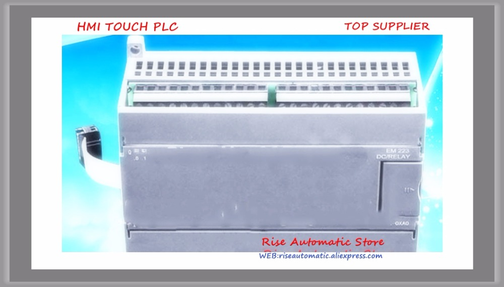 16 entrée 16 transistor sortie PLC commutateur module nouveau EM223T-I16TQ16 compatible avec s7-200 remplacer 6ES7223-1BL22-0XA0