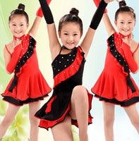 Latin Dance Dress For Girls Samba Dress Ballroom Dancing Dress Girl Dancewear Kids Kid Costume Ballet