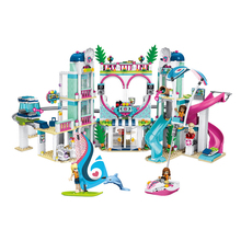 Friends Building Block The Heartlake City Resort Mode Compatible With Brick Toys girls Kit education gifts