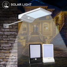 Outdoor Solar Light 36 LED Solar Power Lamp 450LM Bulb Auto PIR Motion Sensor Solar Lantern Waterproof Street Wall Garden Lights(China)