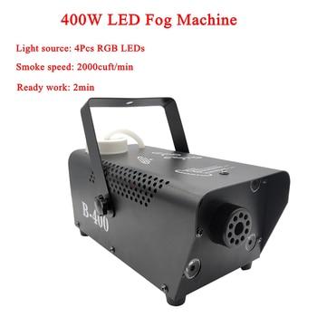 400W LED RGB 3IN1 Fog Machine Remote Control Smoke Machine RGB LED Disco DJ Party Wedding Stage Effect Lighting Equipment цена 2017