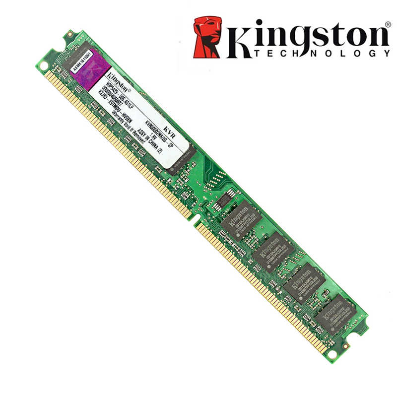Oryginalny Kingston 2GB RAM DDR2 4GB pamięci RAM ddr3 4GB 8GB 2GB 800MHZ 667MHZ 1333MHZ 1600MHZ na pulpit