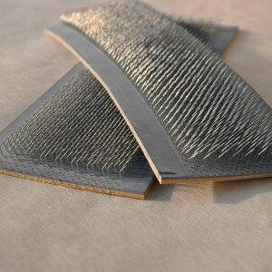 Image 2 - 24cm x 9cm שיער הציור בתפזורת שיער הארכת כלים שיער הרחבות ציור כרטיס (עור כרית) עם מחטים