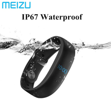 Meizu H1 Bluetooth 4.2 умный Браслет IP67 Водонепроницаемый Фитнес Tracker браслет Heart Rate Мониторы смарт-браслет с OLED Дисплей