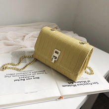 Women's Crossbody Bag With Chain Sling Bag For Women Shoulder Bags Messenger Clutch Crocodile Leather Small Fashion Flap White цены