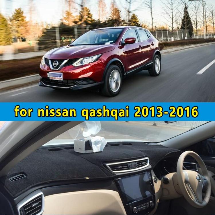 car dashmats car styling accessories dashboard cover for nissan qashqai j11 2013 2014 2015 2016 rhd