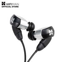 HIFIMAN RE2000 Silver Topology Diaphragm Dynamic Driver in-Ear Monitors  Earphone Earbuds Noise Isolating Easy Cable