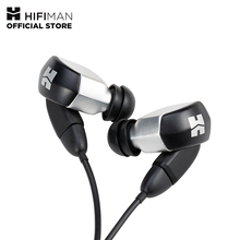 HIFIMAN RE2000 Silver Topology Diaphragm Dynamic Driver in-Ear Monitors  Earphone Earbuds Noise Isolating Easy Cable 1more dynamic driver in ear earphone with microphone control of volume 80% metal diaphragm 1m301 for ios