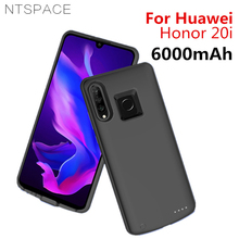 NTSPACE Backup Power Bank Charging Case For Huawei Honor 20i Battery Cases 6000mAh External Powerbank Charger Cover