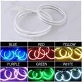 Car 6-Color Headlight CCFL Angel Eyes Halo Rings For BYD F6(2008-2012) #J-3295