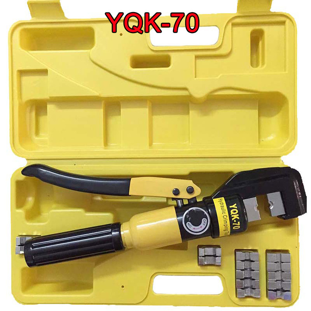 Hydraulic Crimping Tool Hydraulic Crimping Plier Hydraulic Compression Tool YQK-70 Range 4-70MM2 with good quality CP250