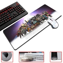 The Overwatch Game Ultimate Gaming Mousepad Natural Rubber Gamer Mouse Mat Pad Game Computer Desk Pad Mouse Play Mat