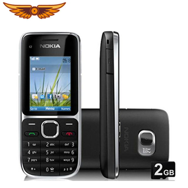 C2-01 המקורי סמארטפון נוקיה C2-01 1020 mAh 3.15MP 3G תמיכה רוסית מקלדת & Aracbic מקלדת & עברית מקלדת נייד !!