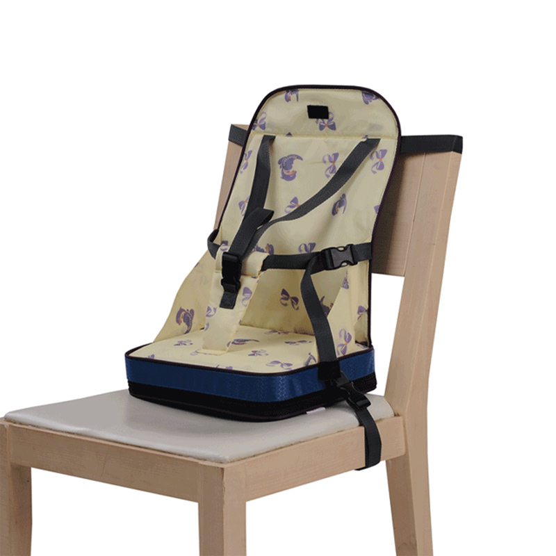 Baby Portable High Chair Safety Harness Child Wooden Rocking Booster Travel Dinner Lunch Waterproof Feeding Foldable Seat ...
