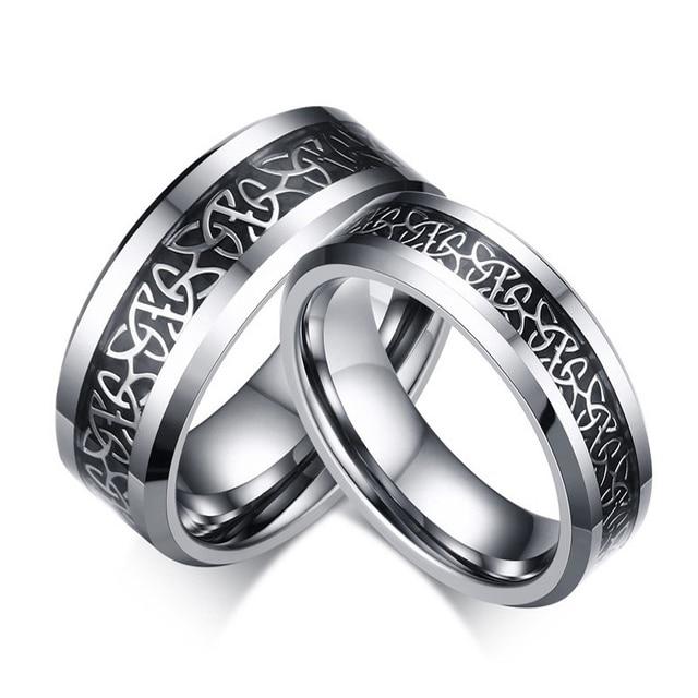 new elegent western design mens and womens couple tungsten carbide
