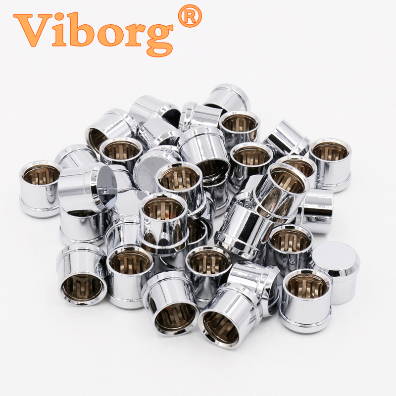 8Pcs X Viborg Rhodium  plated  Short Circuit Socket Phono Connector RCA Shielding jack socket protect cover caps viborg audio 8pcs rhodium gold plated rca socket phono chassis female hifi amp
