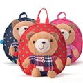 New Band High Quality Cute Bear Minion Plush Backpack Children Shoulder Bag Cartoon School Bag for Baby Kids Satchel