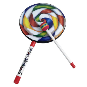 Lollipops Pattern Colorful Dru