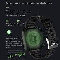 men waterproof D13 Smart Watch 1.3 Inch Men Women For Android Apple Phone Waterproof Heart Rate Tracker Blood Pressure Oxygen Sport Smartwatch (2)