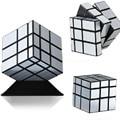 ShengShou Espejo Cubo Mágico profesional 3x3x3 cubo mágico Puzzle Giro Velocidad Fundido Recubierto de Oro y Plata aprendizaje y educación Juguetes
