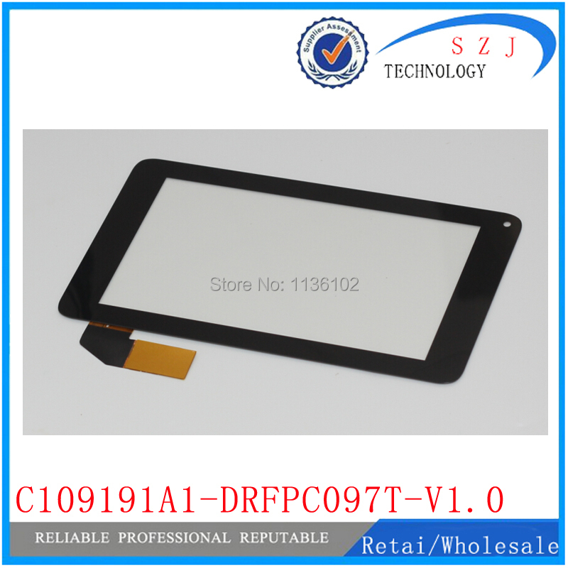 (Ref: C109191A1-DRFPC097T-V1.0 ) New 7 inch Tablet touch screen Touch panel Digitizer Glass Sensor Replacement FreeShipping