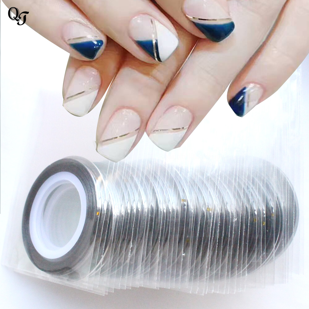 Striping Tape Line Nail Art: New 23 Color Optional Nail Rolls Striping Tape Line