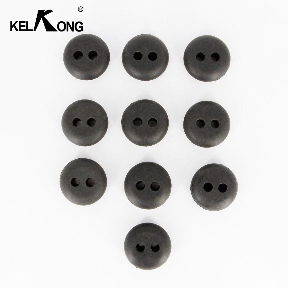 Image 2 - KELKONG 5PCS 2 Hole 20mm Rubber Grommet For String Craftsman Trimmer Lawn mower Chainsaw Blowers Brush Cutter Fuel Tank-in Carburetor from Automobiles & Motorcycles