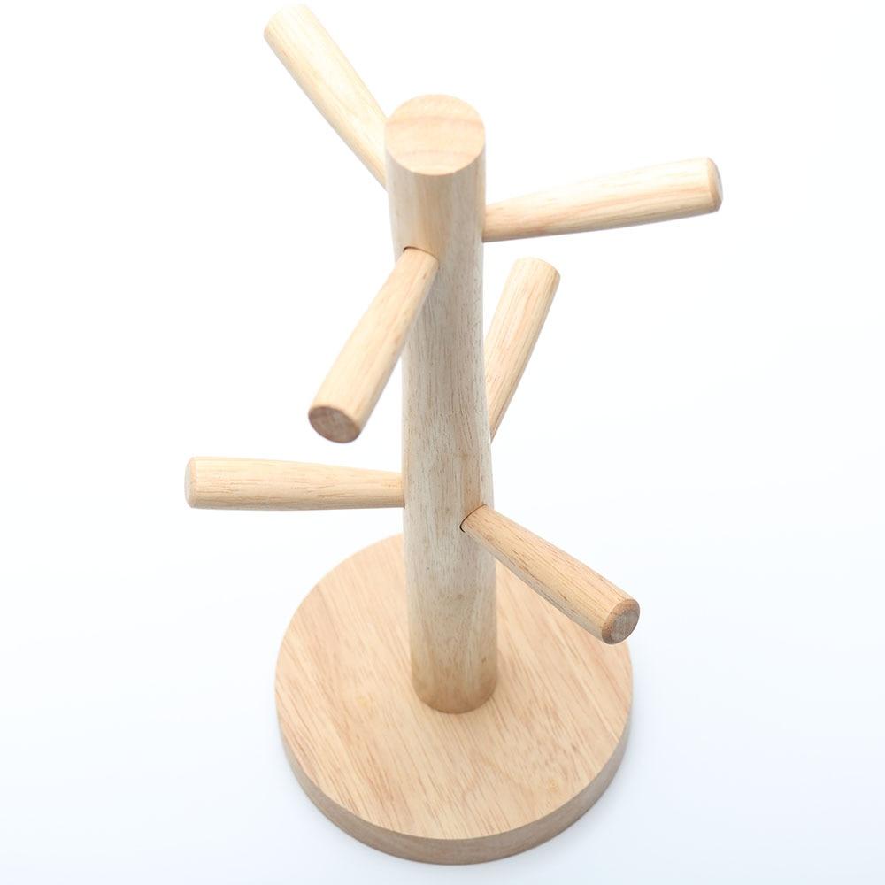 ხის თასის მფლობელი - სივრცის შენახვისა და ორგანიზების - ფოტო 6