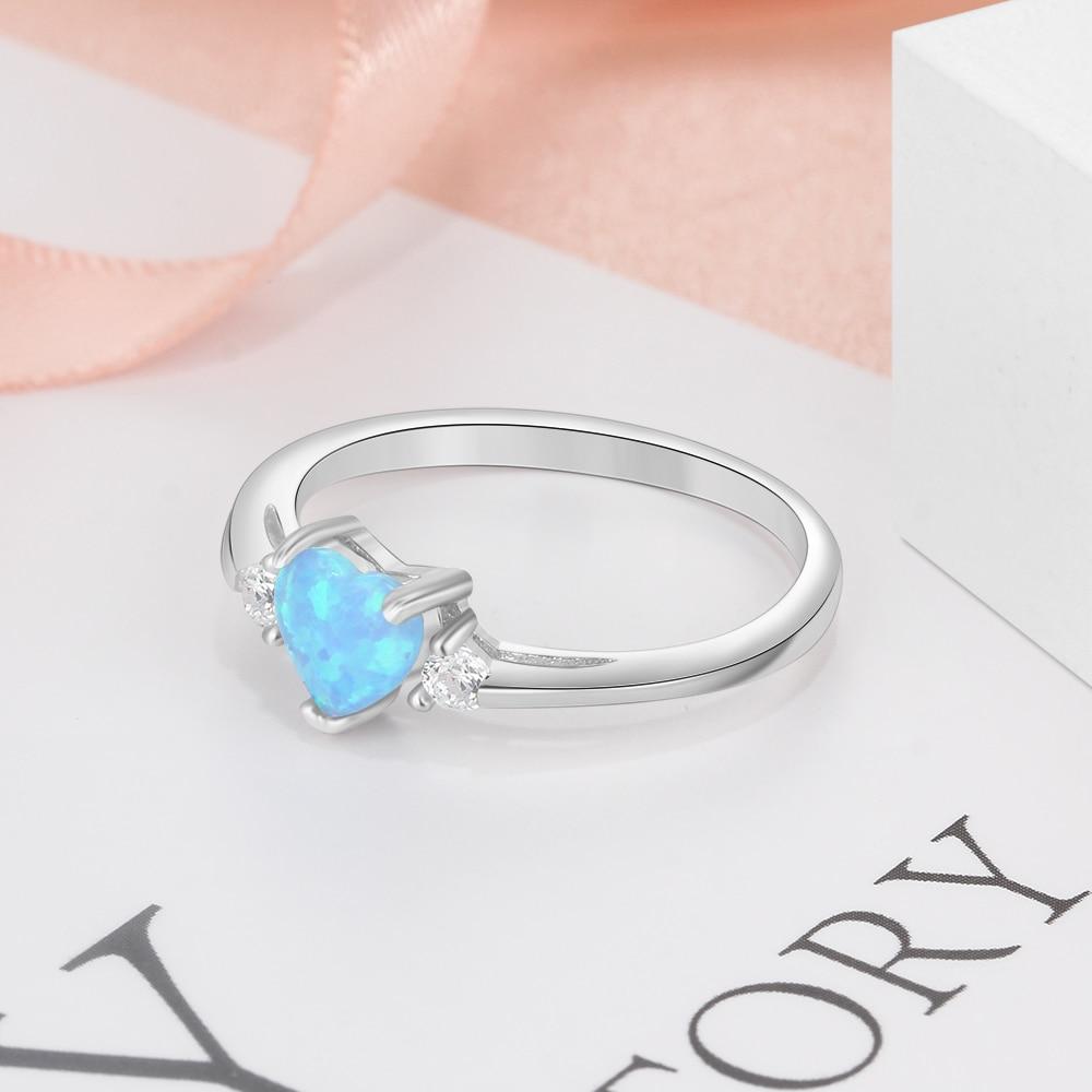 Classic Eternal Heart Rings Silver Color - 1MRK.COM