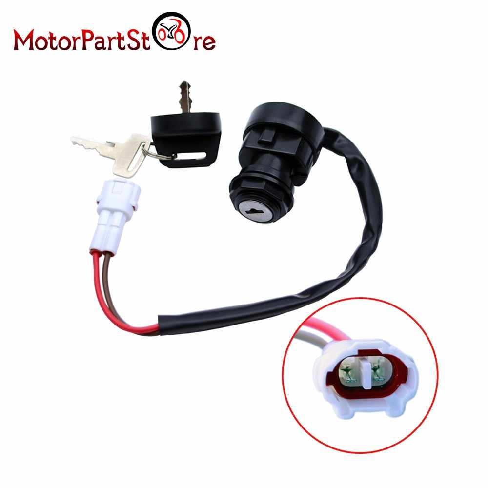Motorcycle Ignition Key Switch for Yamaha Raptor 660 YFM660 2001-2005 ATV Motorbike Ignition Accessories Parts for Motorcycle D5