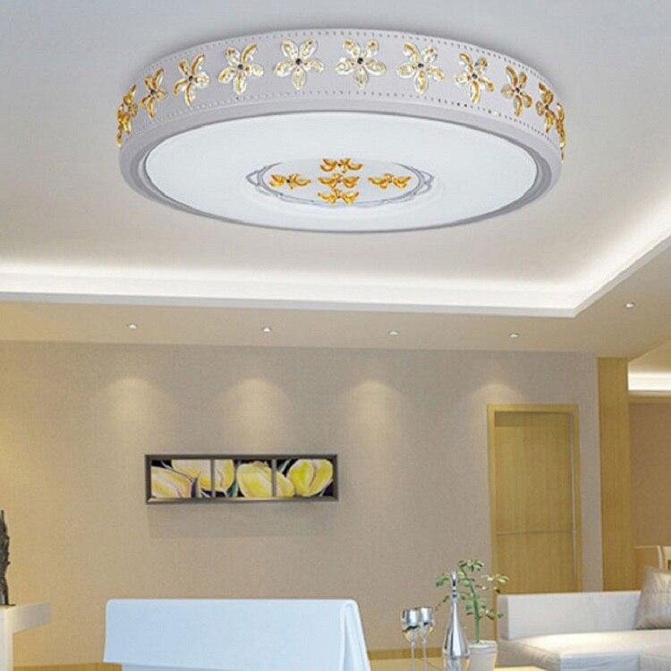 Светодиодный потолочный светильник воды Кристалл Бауайния дома гостиная спальня кабинет столовая Проход Спальня балкон потолочный светил...
