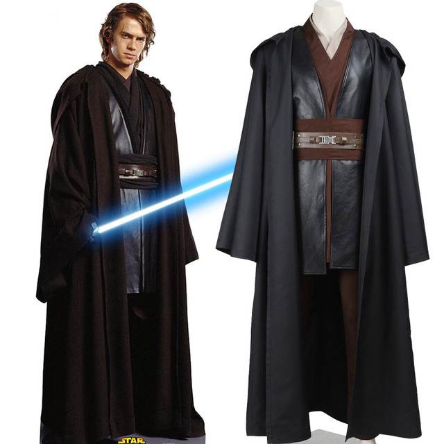 star wars costume adult anakin skywalker cosplay halloween carnival party costume anakin skywalker costume