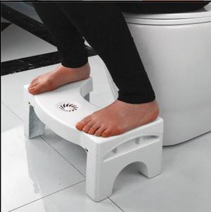 Image 5 - Bathroom Anti Constipation For Kids Foldable Plastic Footstool Squatting Stool Toilet