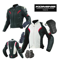 Komine JK052 And PK717 Genuine Motorcycle Suit Motocross Jacket And Pants The Car Ride Jackets Leather