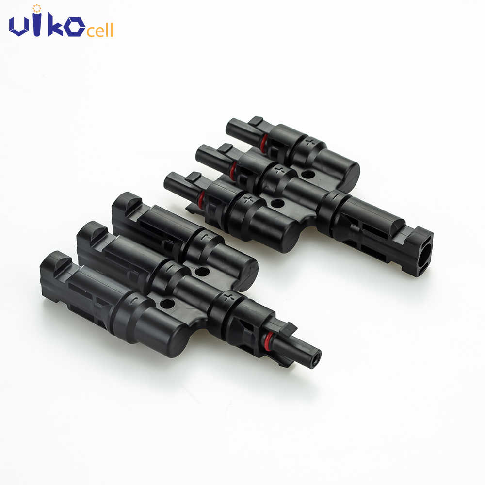 50 pairs MC4 3 1 PV connector 3M1F/3F1M T-stacker MC4 T tak connector voor solar panel