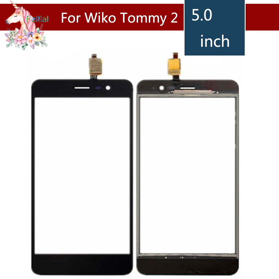 5.0 For Wiko Tommy 2 Tommy2 LCD Touch Screen Digitizer Sensor Outer Glass Lens Panel Replacement Black5.0 For Wiko Tommy 2 Tommy2 LCD Touch Screen Digitizer Sensor Outer Glass Lens Panel Replacement Black