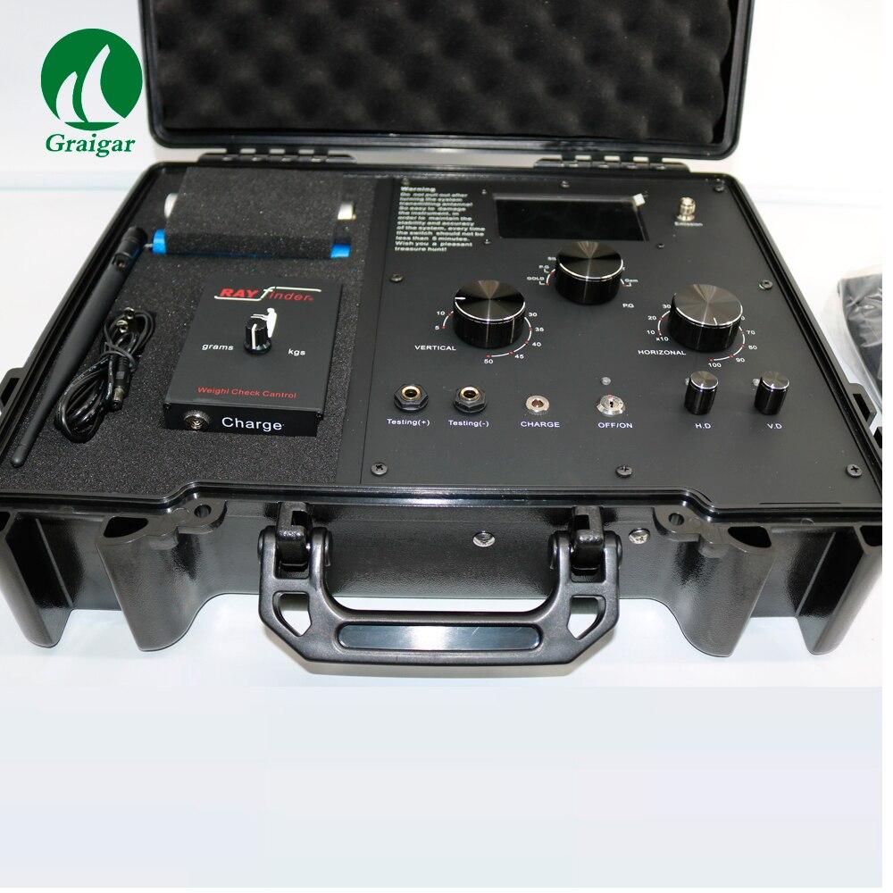 Nuovo EG-1000 Metropolitana Metal Detector EG1000 Oro e Treassure Finder 50 m Rilevamento di Profondità 1000 m Gamma di Rilevazione