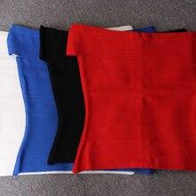 KLEEZY распродажа, суперскидка, Vestidos, Новое поступление, сексуальный топ на одно плечо, бандаж, облегающая ткань HL1512