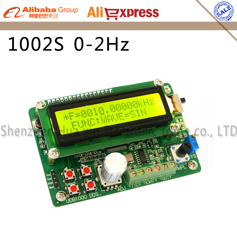 UDB1002S series DDS Signal source module Signal generator 2MHz Frequency sweep and Communication function 60MHZ frequency meter udb1002s series dds signal source module