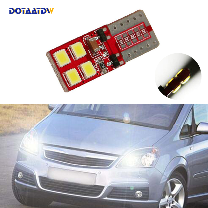 1x T10 W5W 168 194 SMD Error Free Parking Light Bulbs Clearance Lights For <font><b>Opel</b></font> Astra h j g Corsa Zafira Insignia <font><b>Vectra</b></font> <font><b>b</b></font> c d image