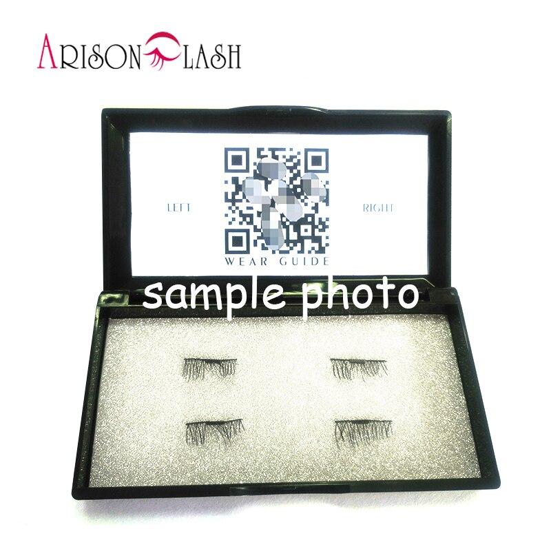 Magnetic Eyelashes 3D Mink handmade lashes no glue easy remove False Eye Lashes Extension Magnet Fake